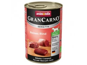 Animonda GranCarno Adult Sensitive hovězí 800g