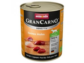 Animonda GranCarno Adult Sensitive kuřecí 800g