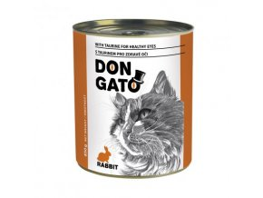 DON GATO konzerva kočka králík