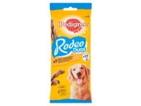 PEDIGREE pochoutka RODEO DUOS 7ks, 123g slanina