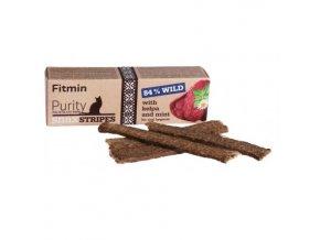 Fitmin Purity Snax Stripes Zvěřinová pochoutka pro kočky 35 g