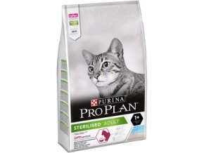 Pro Plan Cat Sterilised treska a pstruh 10kg