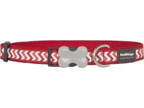 Obojek RD reflective ZIGGY,red