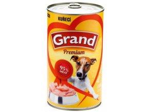 Grand Premium Dog kuře 1300 g