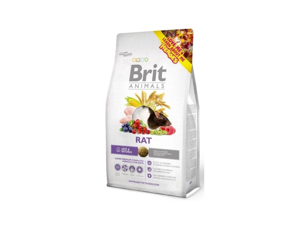 brit animals rat complete 1 5kg