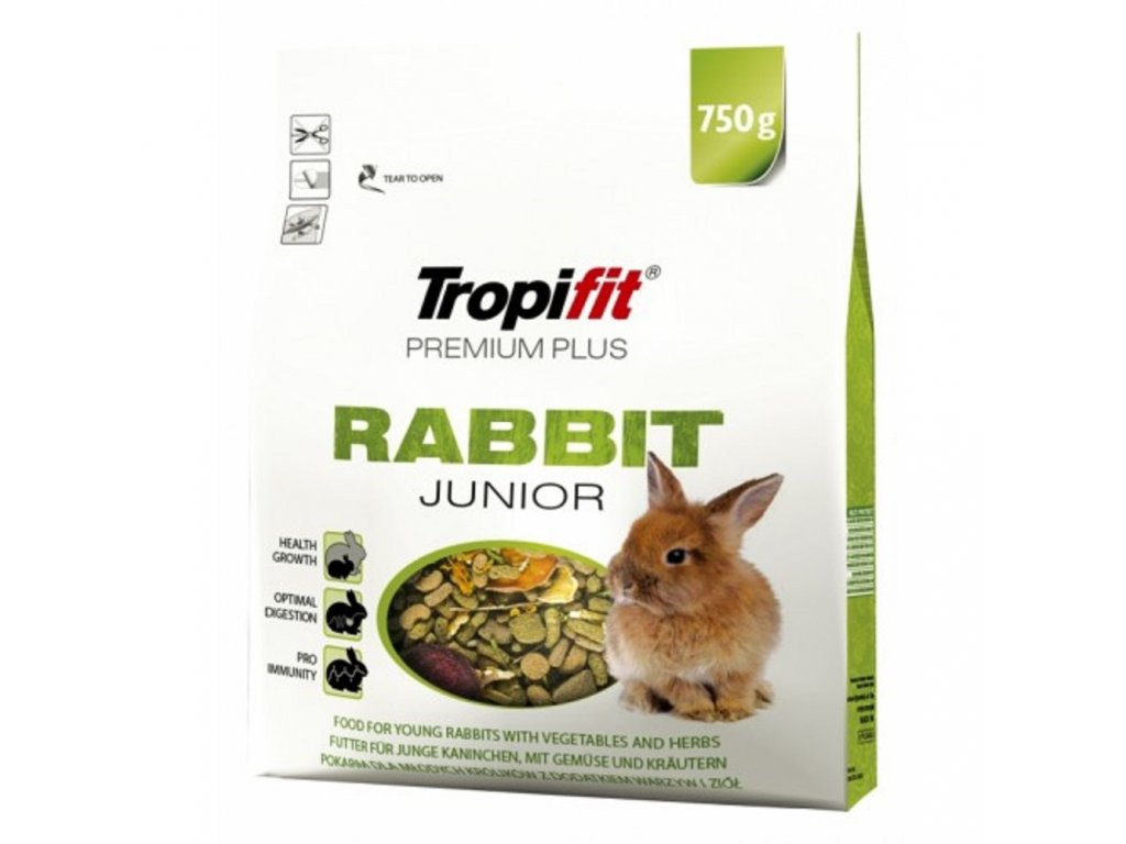 TROPIFIT 750G RABBIT JUNIOR