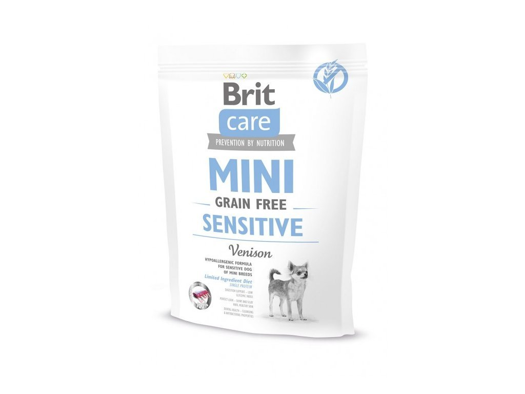 4722 brit care mini grain free sensitive 400g