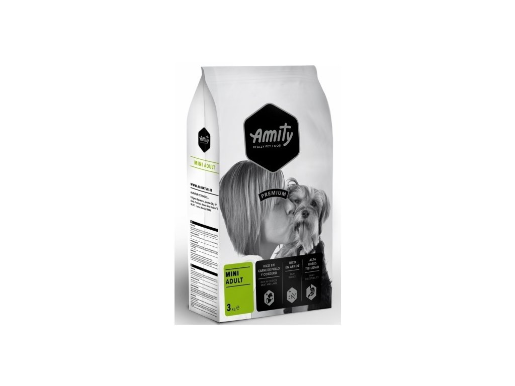 5658 amity premium dog adult mini 3kg tenesco cz