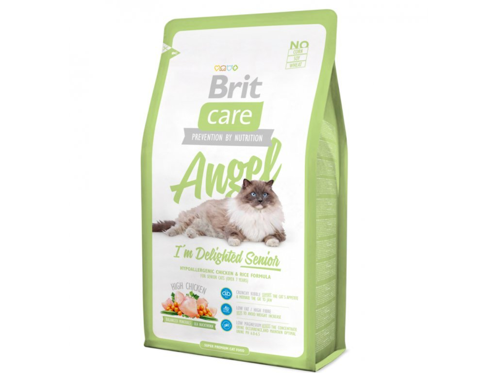 2982 brit care cat angel delighted senior 2kg