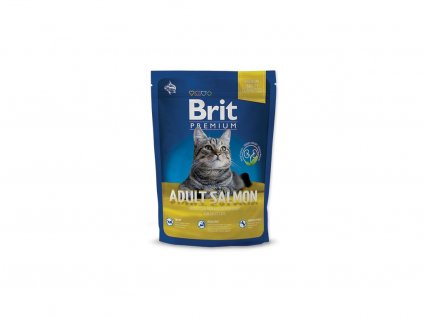 3912 new brit premium cat adult salmon 300g