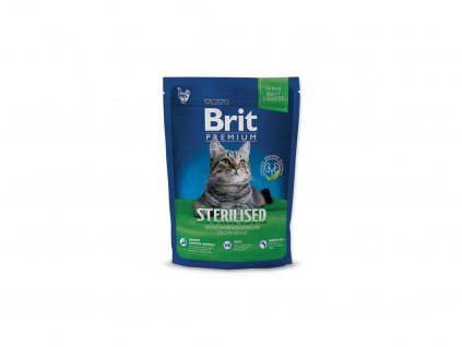 3927 new brit premium cat adult sterilised 800g