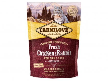 5223 carnilove cat fresh chicken rabbit 0 4kg