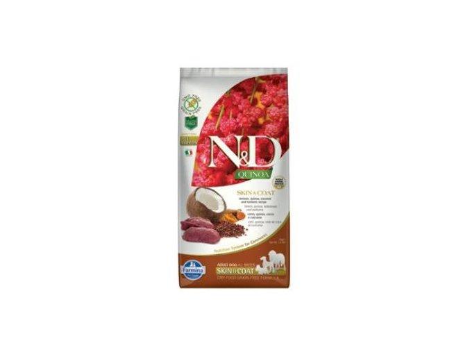N&D GF Quinoa DOG Skin&Coat Venison & Coconut 2,5kg