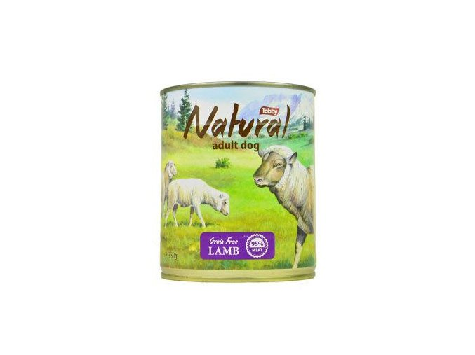 tobby konz natural lamb 850g