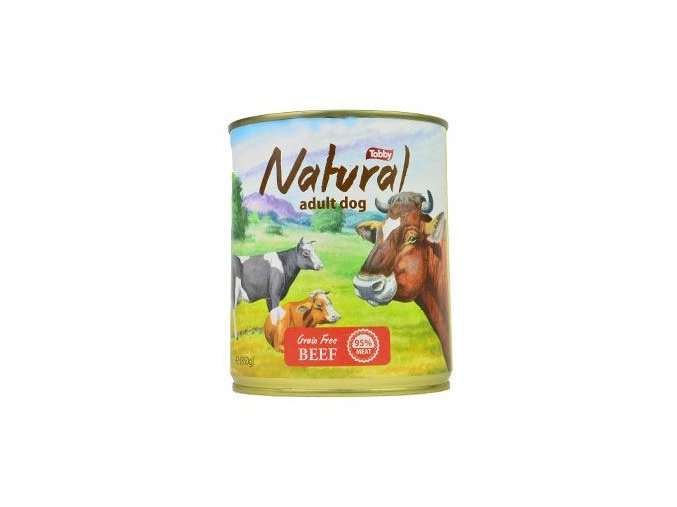 tobby konz natural beef 850g