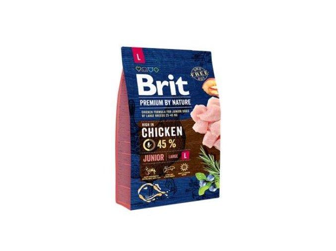Brit Premium Dog by Nature Junior L 3kg