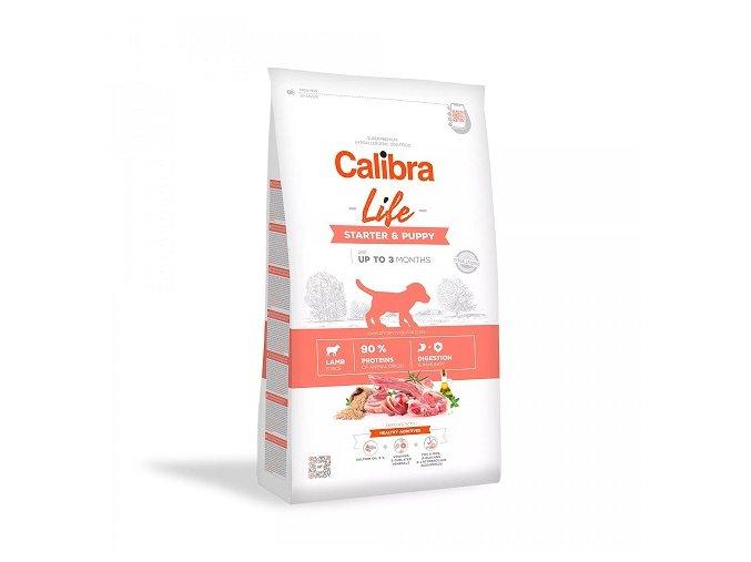 Calibra Dog Life Starter & Puppy Lamb 12 kg