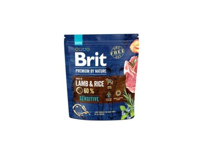 Brit Premium Dog by Nature Sensitive Lamb 1kg