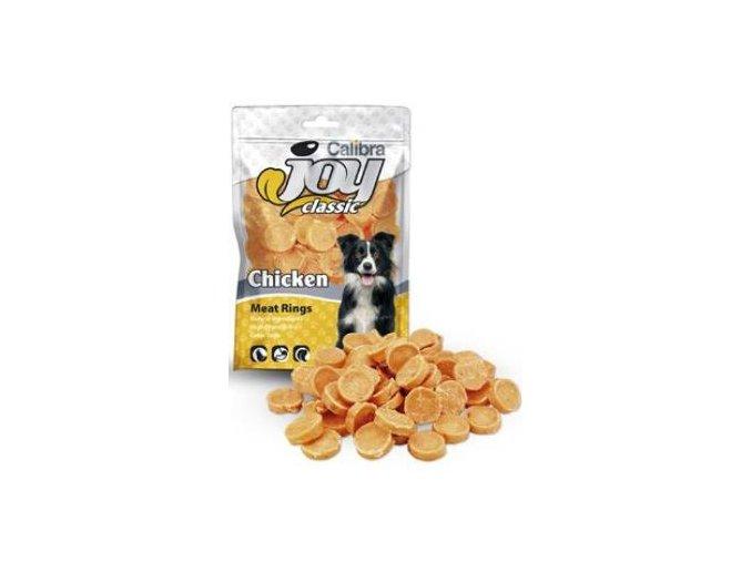 Calibra Joy Dog Classic Chicken Rings 80g NEW