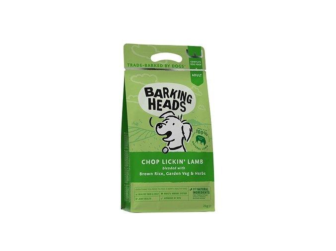 BARKING HEADS Chop Lickin' Lamb 12kg  + BARKING HEADS kapsička 300g