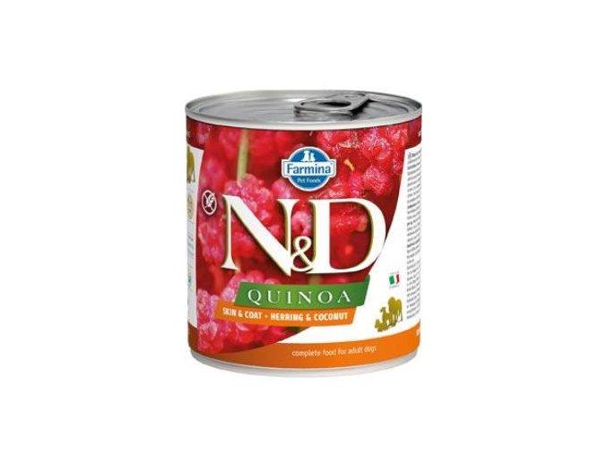 N&D DOG QUINOA Herring & Coconut