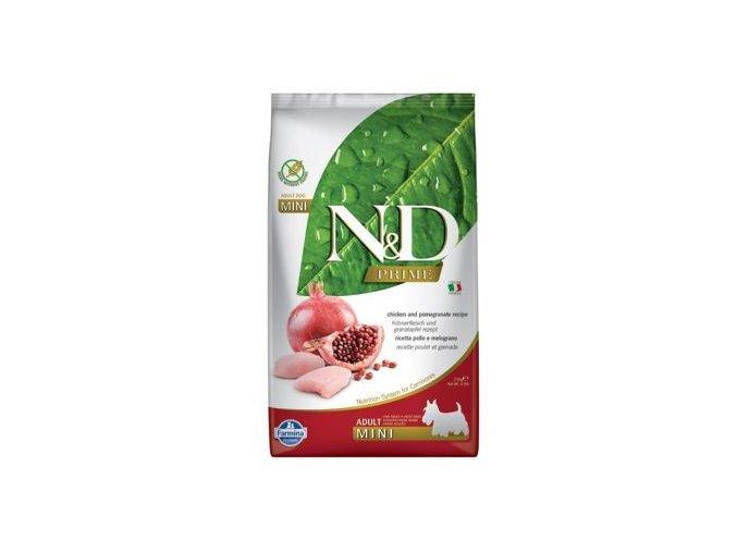 N&D PRIME DOG Adult Mini Chicken&Pomegranate 2,5kg