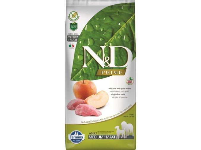 N&D PRIME DOG Adult M/L Boar & Apple 2,5kg
