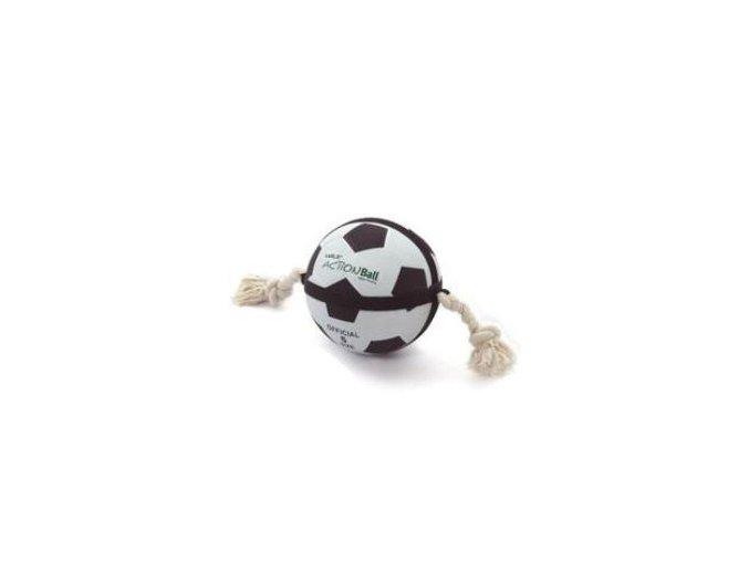 Action Ball fotbalový míč s provazy 22cm