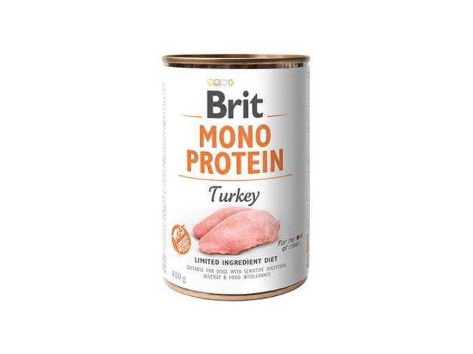 Brit Dog konz Mono Protein Turkey 400g