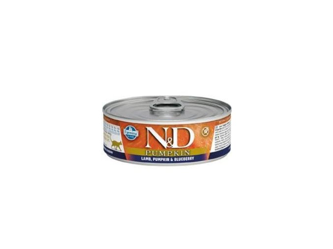 N&D CAT PUMPKIN Adult Lamb & Blueberry 80g