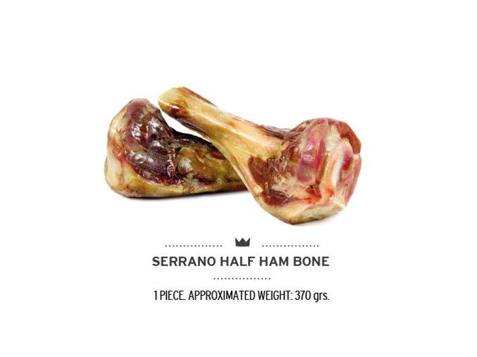 Serrano Šunková kost poloviční 185g