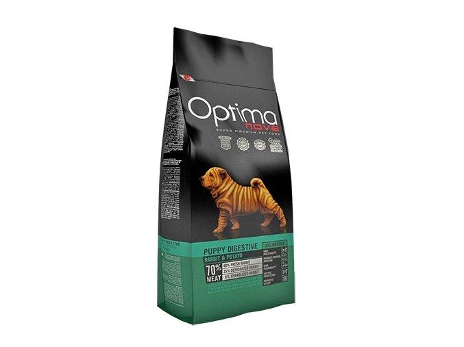 Optima Nova Dog GF Puppy digestive 800g