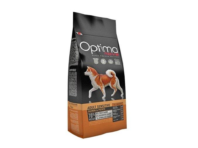 Optima Nova Dog GF Adult sensitive 800g