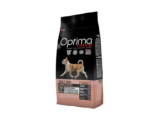 Optima Nova Dog GF Adult mini sensitive 8 kg