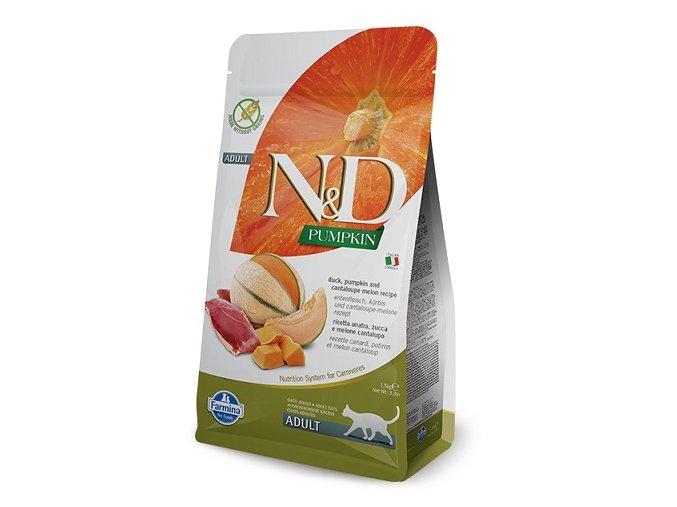 N&D GF Pumpkin CAT Duck & Cantaloupe melon 5 kg