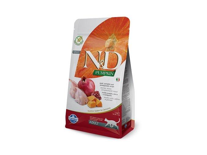N&D GF Pumpkin CAT Quail & Pomegranate 1,5 kg