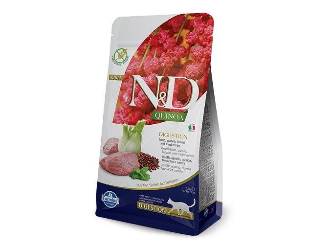 N&D GF Quinoa CAT Digestion Lamb & Fennel 1,5 kg