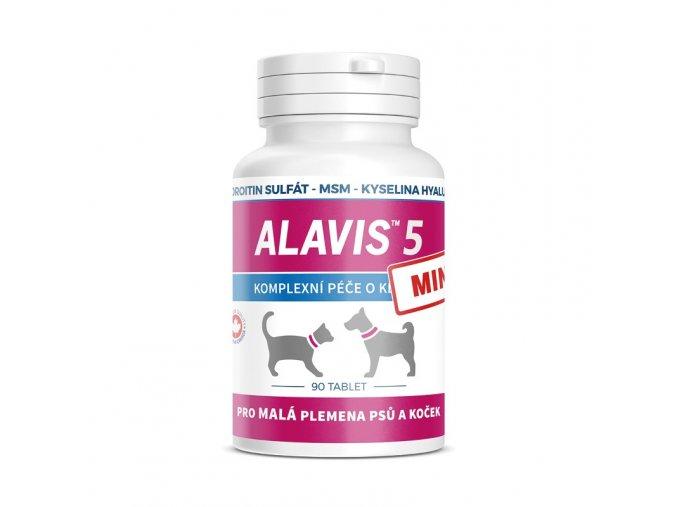 ALAVIS 5 MINI Kloubní přípravek pro psy a kočky 90 tbl