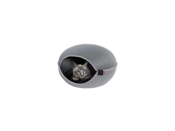 Zolux Pelech/domek pro kočky LOUNA šedá