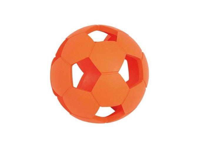 Nayeco míč děrovaný 11 cm oranžový