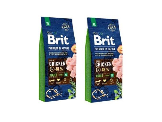 Brit Premium Dog by Nature Adult XL 2 x 15kg