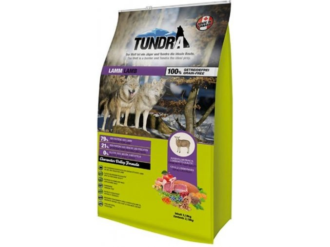 Tundra Dog Lamb Clearwater Valley Formula 3,18 kg