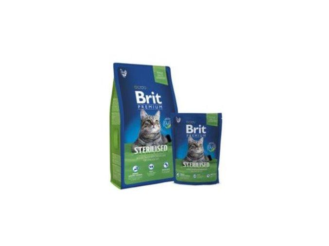 Brit Premium Cat Sterilised 300g