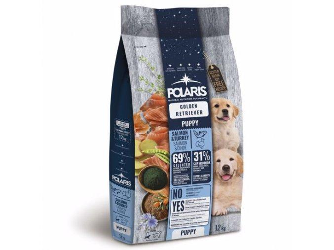 Polaris GF pes Puppy Gol.Retr losos, krůta 12kg