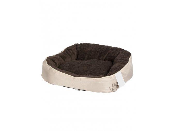 Pelech Fleece 52x50x18cm hnědý