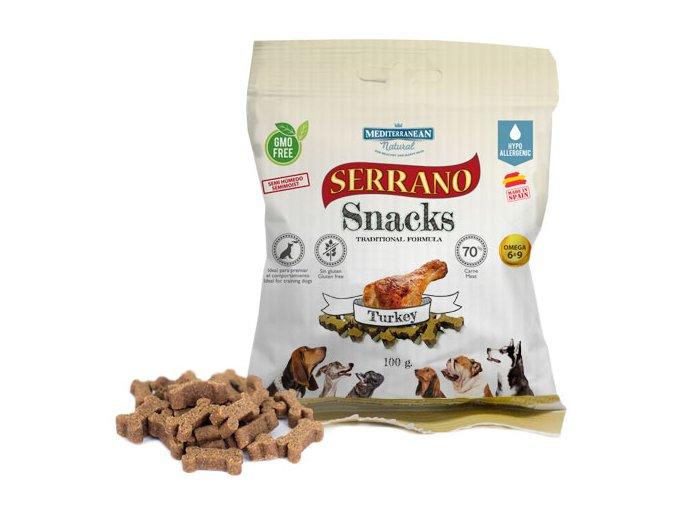 Serrano Snacks Turkey 100g