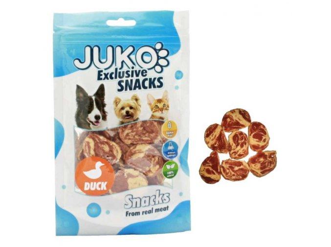 Juko Snack Duck & Codfish Chips 70g