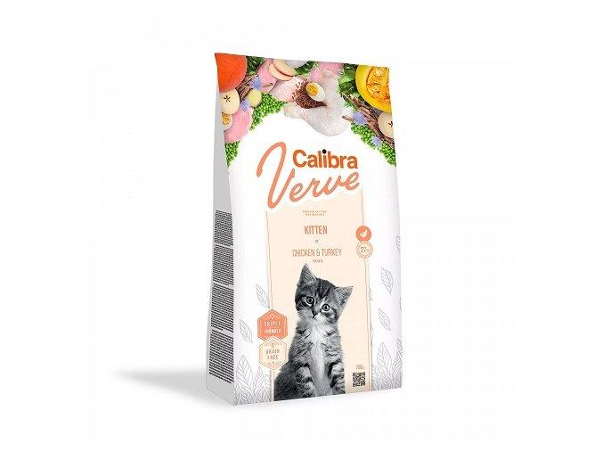 Calibra Cat Verve GF Kitten Chicken & Turkey 3,5 kg