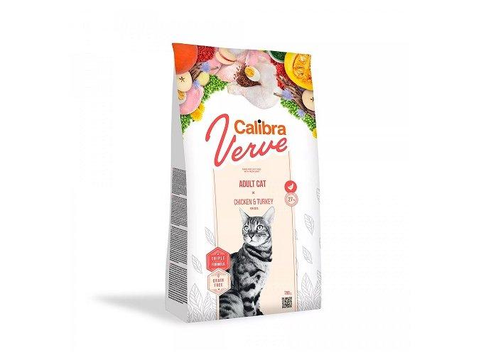 Calibra Cat Verve GF Adult Chicken & Turkey 750 g