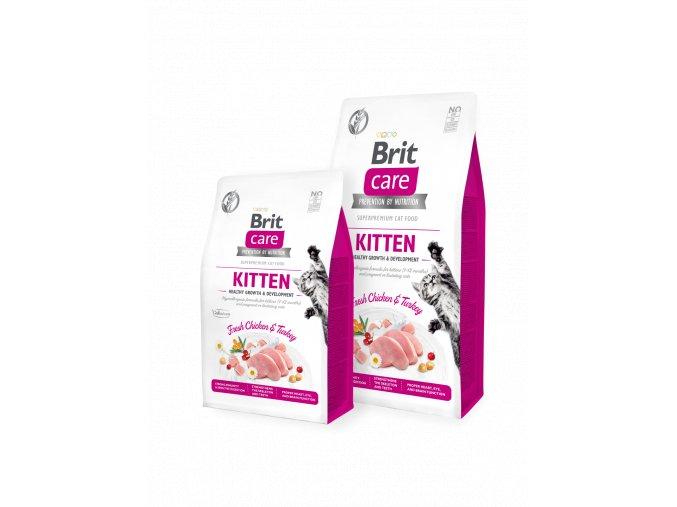 Brit Care Cat GF Kitten Healthy Growth & Development 400 g